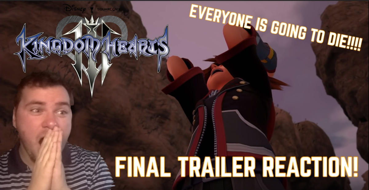 Kingdom Hearts 3 FINAL TRAILER REACTION!