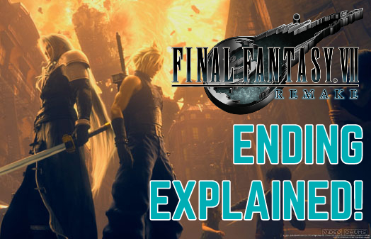 Final Fantasy VII Remake Ending Explained! (SPOILERS)