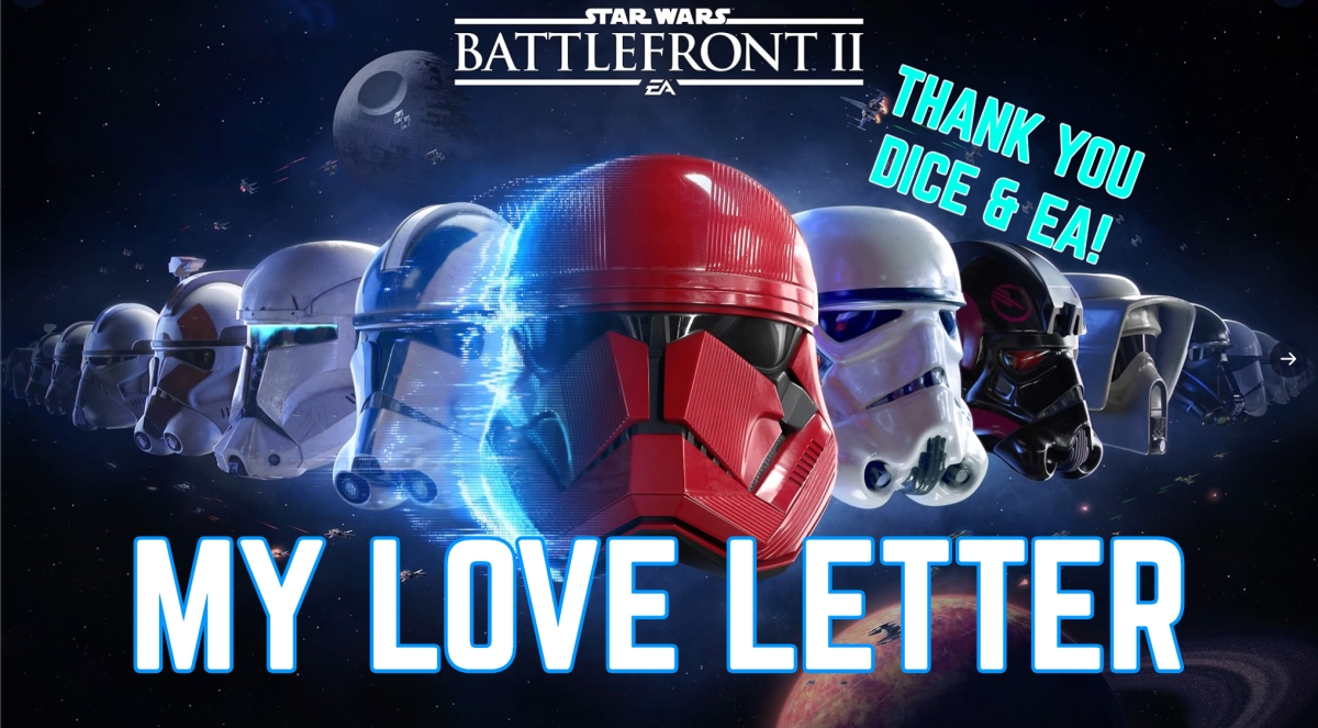 My Love Letter to Star Wars Battlefront 2