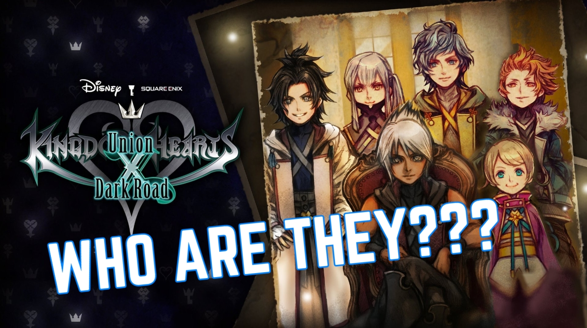 Kingdom Hearts DARK ROAD Characters REVEALED!